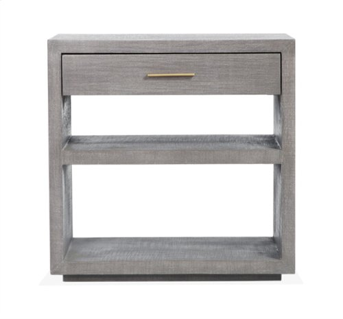 Livia Bedside Chest - Grey