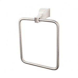 Aqua Bath Ring - Brushed Satin Nickel