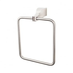 Aqua Bath Ring - Brushed Satin Nickel