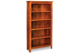 Shenandoah Open Bookcase, Shenandoah Open Bookcase, 5-Adjustable Shelves