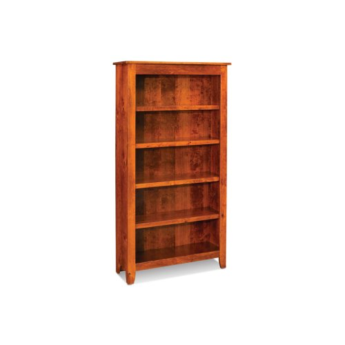 Shenandoah Open Bookcase, Shenandoah Open Bookcase, 4-Adjustable Shelves