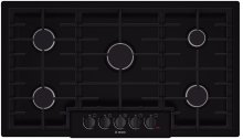 "36"" Gas Cooktop 800 Series - Black"