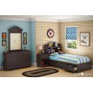 Mates Bed With Bookcase Headboard Set - 39'' Product Image