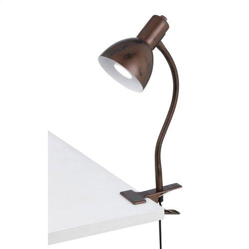 LED Gooseneck Clamp On Lamp