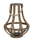Bacchus Wood Lantern Product Image