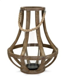 Bacchus Wood Lantern