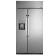 "Discovery 42"" Built-In Side-by-SideRefrigerator, in Stainless Steel with Pro Style Handle"