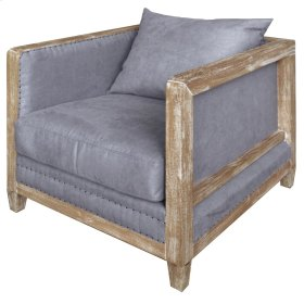 Hartland Arm Chair, Denim Dove Gray
