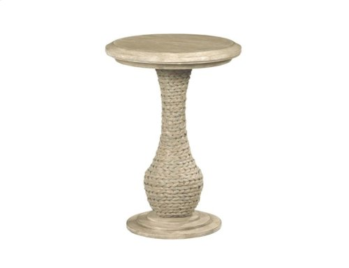 Biscane Round End Table