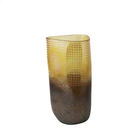 """Glass Vase 18.5"""", Multi"""