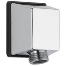 Chrome Square Wall Elbow for Hand Shower