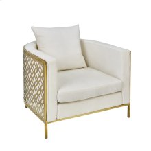 Occasional Arm Chair, Gold