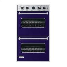 "Cobalt Blue 30"" Double Electric Premiere Oven - VEDO (30"" Double Electric Premiere Oven)"