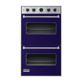 "Cobalt Blue 30"" Double Electric Premiere Oven - VEDO (30"" Double Electric Premiere Oven)"