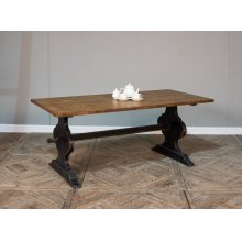 Vintage Truck Bed Dining Table