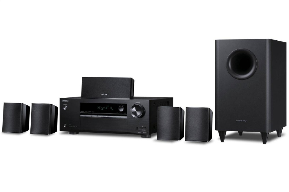 HTS3800ONKYO 5 1-Channel Home Theater Receiver/Speaker