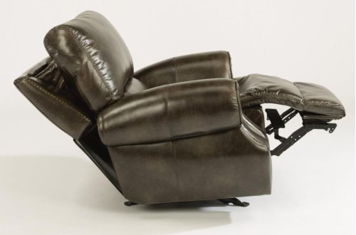 Colton Fabric Power Gliding Recliner with Power Headrest