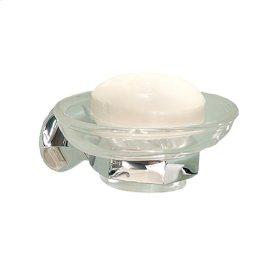Polished Nickel Soap Dish