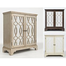 "Casa Bella 32"" Accent Cabinet- Ivory"