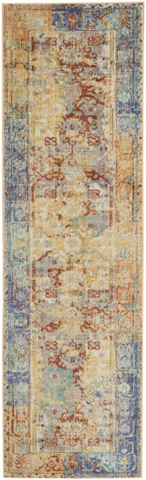 Delmar Dlm02 Cream Runner 2'3'' X 7'10''