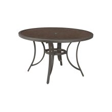 Round Dining Table w/UMB OPT
