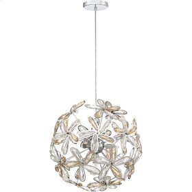 Starglow Pendant in Polished Chrome