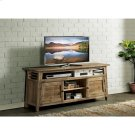 Rowan - 66-inch TV Console - Rough-hewn Gray Finish Product Image