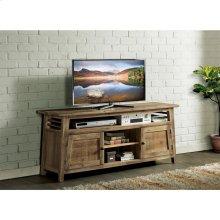 Rowan - 66-inch TV Console - Rough-hewn Gray Finish