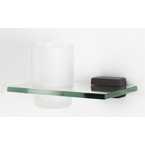 Cube Tumbler Holder A6570 - Chocolate Bronze