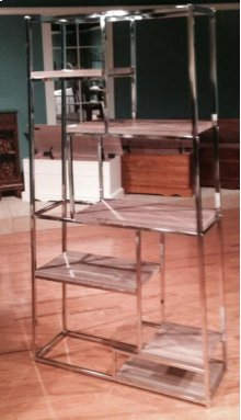 Small Chrome / Weathered Wall Unit