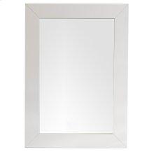 "Weston 29"" Rectangular Mirror, Bright White"