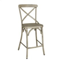 X Back Counter Chair - Vintage Cream