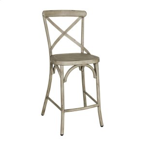 Liberty Furniture IndustriesX Back Counter Chair - Vintage Cream