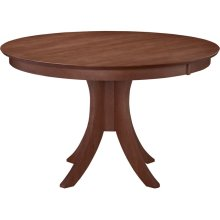 30'' H Siena Pedestal Table in Espresso