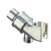 Chrome Showerarm Mount with Brass Ball Joint