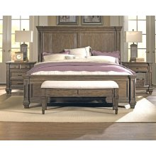 Cking Panel Bed