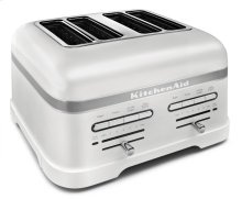 Pro Line® Series 4-Slice Automatic Toaster - Frosted Pearl White