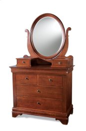 Oval Dressing Mirror