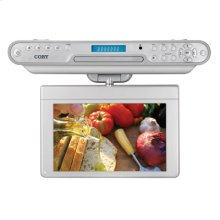 10 inch Widescreen TFT Under-the-Cabinet DVD/CD Player with Digital TV Tuner