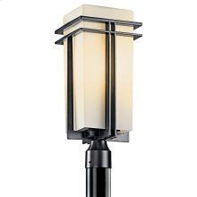 Tremillo Collection Outdoor Post Mt 1Lt Fluorescent BK