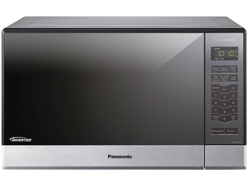 Ft 1200w Built In Countertop Microwave Oven With Inverter Technology Hidden Panasonic Logo