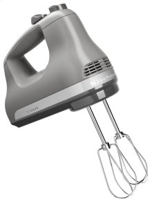 5-Speed Ultra Power Hand Mixer - Matte Gray