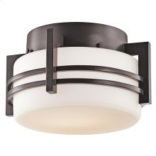 Rivera Collection 1 Light Outdoor Ceiling  Architectural Bronze