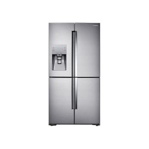 22 cu. ft. Food Showcase Counter Depth 4-Door Flex Refrigerator with FlexZone in Stainless Steel - FINGERPRINT RESISTANT STAINLESS STEEL