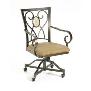 Hillsdale FurnitureBrookside Oval Back Caster Dining Chair