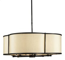 Linley Pendant - 13h x 30dia., adjustable from 22h to 53h
