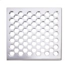 """Forever Brass - PVD 6"""" Square Shower Drain Product Image"""