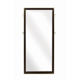 Smoked Peppercorn Floor Mirror