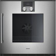 Oven 200 Series Full Glass Door In Gaggenau Metallic Width 60 Cm Right-hinged