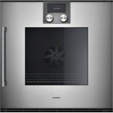 "200 series 200 series single oven Full glass door in Gaggenau Metallic Width 24"" (60 cm) Right-hinged"